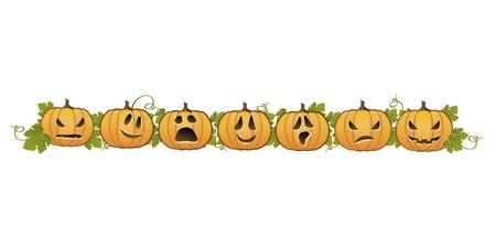 halloween k�rbis: Halloween-K�rbis Linie Dekoration