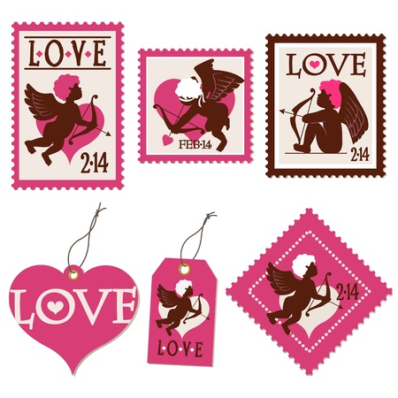 Set of Valentine Vector