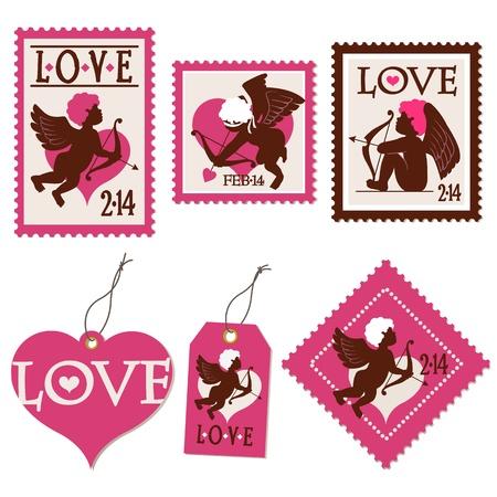 Set of Valentine Vector