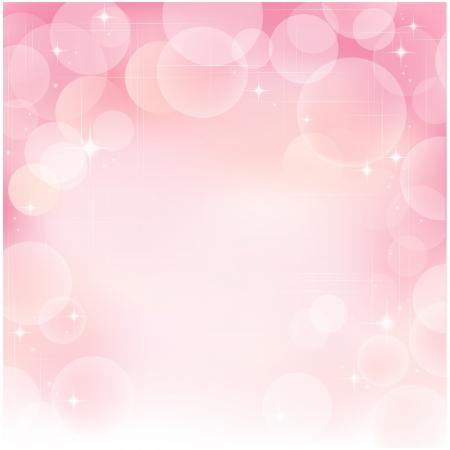 ピンクの泡の背景。透明度、グラデーション、グラデーション メッシュを使用されます。、クリッピング マスクの泡が耕作してないです。EPS10。