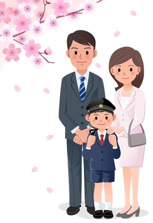 少年  イラスト・ベクター素材