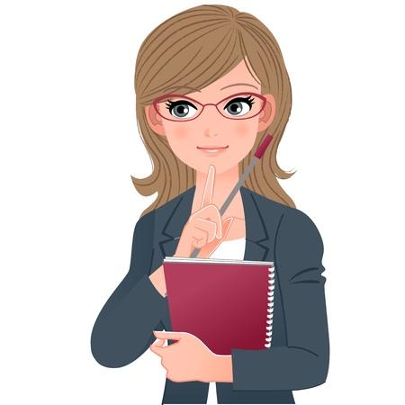 Eyewear bril leraar raken kin met index fingher.File bevat Verloop, Blending tool.
