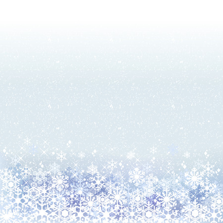 ble: Winter background with ble snow scenery.File contains clipping mask,Gradient, Transparency, Gradient mesh.