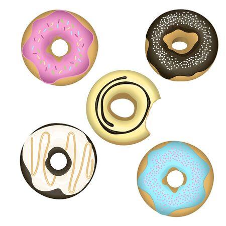 застекленный: набор остеклением пончиков