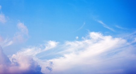 Blue sky and white clouds 写真素材