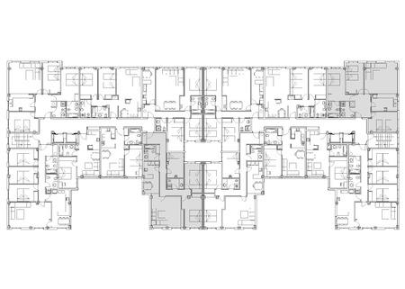 specifiche: Un piano di un edificio