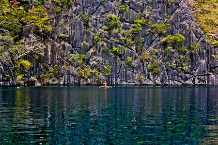 Banca is the Philippine version of a kayak photo