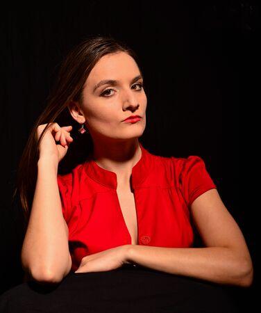 Woman model photo