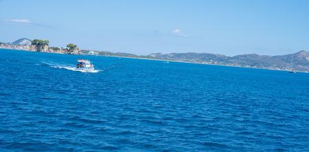 Small island of Cameo in Greece near island Zakynthos.