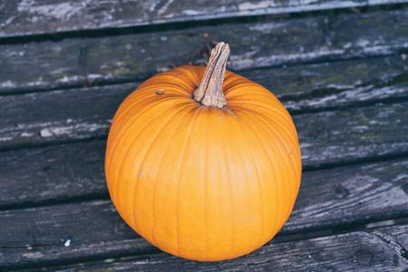 Pumpkin as a symbol of autumn and hellowen.
