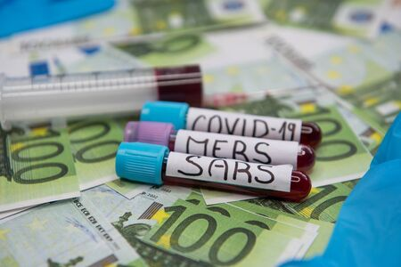The economic situation of the euro and the disease covid-19.
