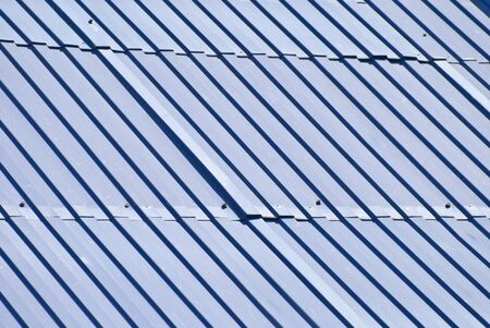 Background in the form of metal roofing photo
