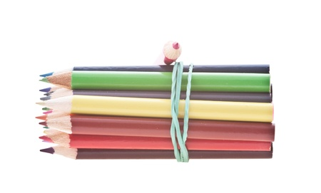 Coloured Pencils Stock Photo - 8782336