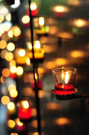 lots of candles  Reklamní fotografie