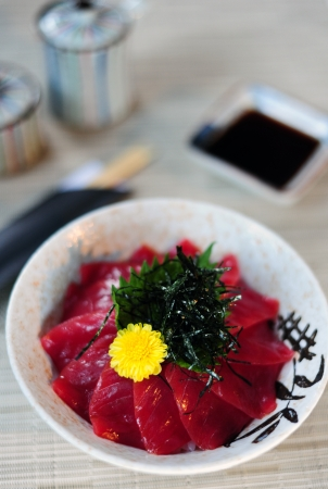 maguro: Japanese Rice with Maguro