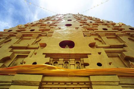 Golden Bodh Gaya in Sangkhlaburi