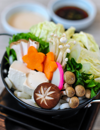 Sukiyaki japanese style Stock Photo