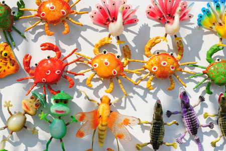 Magnet with sea animals photo