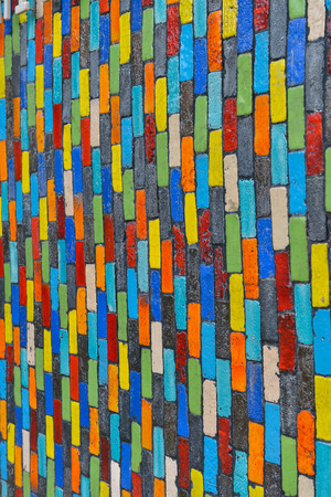 fancy colorful block background photo