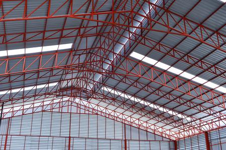 steel industrial building indoor