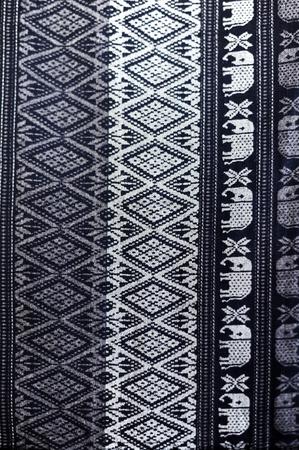 Texture of Thai silk pattern, Thailand textile style photo