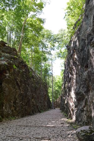 ancient pass: Hellfire Pass is the name of a railway cutting on the former Death Railway