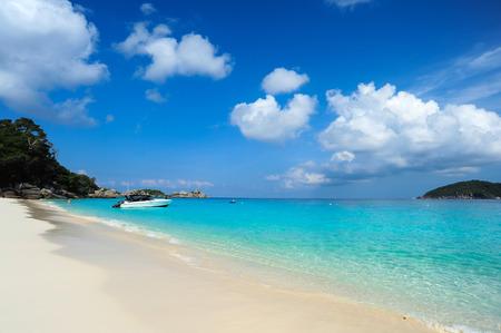 beach scene: Tropical beach, Similan Islands, Andaman Sea, Thailand