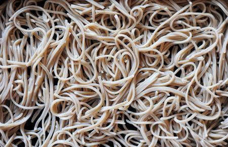 soba: Japanese buckwheat soba noodle