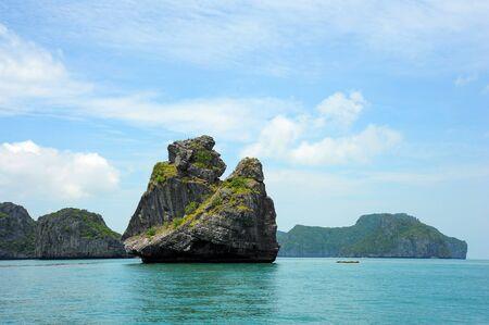 king kong: King kong rock ,Ang Thong National Marine Park, Thailand Stock Photo