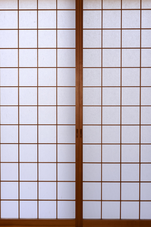 furniture design: Japanese traditional paper wall background