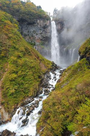 momiji: Kegon Japan highest Waterfall at Nikko National Park in Tochigi Prefecture in Japan