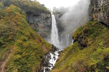 Kegon Japan highest Waterfall at Nikko National Park in Tochigi Prefecture in Japan