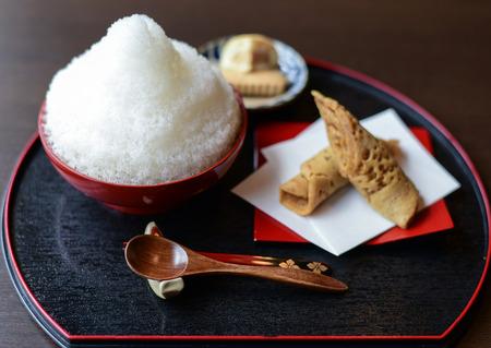 Bukubuku Tea  is a traditional Okinawa-style tea Stock Photo