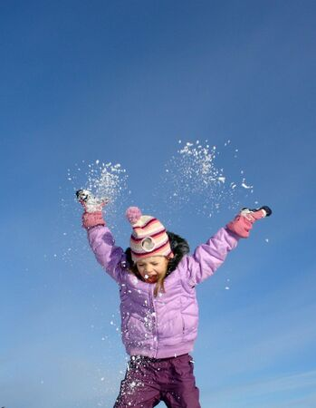 happy winter Stock Photo - 310585