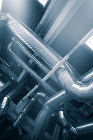 産業用空気状態の換気管およびダクト 写真素材 - 97280602
