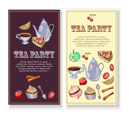 Tea party banners