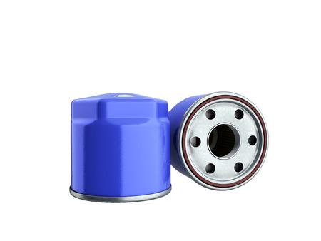 automobile oil filter 3d render on white no shadow 版權商用圖片
