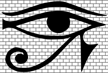 kabbalah: All-seeing eye (New World Order) vector