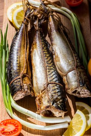 mackerel, ready to eat fish, smoked fish