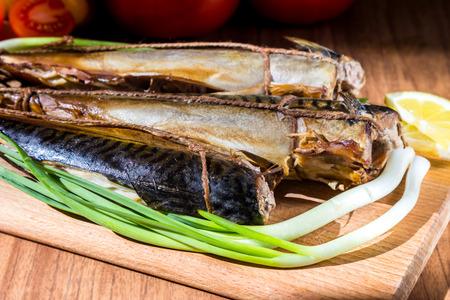 Makrely ryb Reklamní fotografie