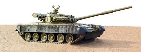 Tank isolated T80