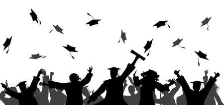 Graduation event ceremony.