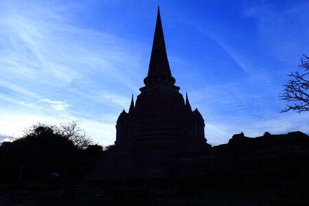 Wat Phra Sri Sanphet, of Ayutthaya, Thailand  Stock Photo - 14953378
