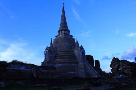 Wat Phra Sri Sanphet ,of Ayutthaya, Thailand  Stock Photo - 14939475