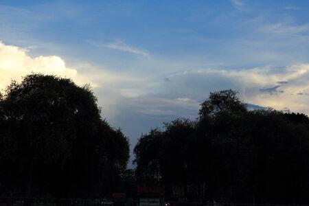 eventide: The evening sky