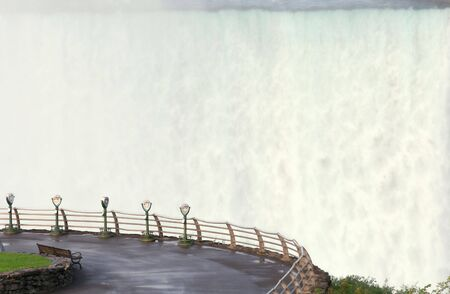 Viewing binoculars at Niagara Falls