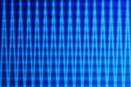 Black and blue abstract background with curvy stripes of color gradient