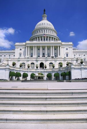versatile: Close up image of the US Capitol. Versatile image that could be used to represent politics, power, government, traveling, policy debates, elections.