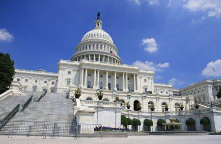 Vue du Capitole de Washington DC
