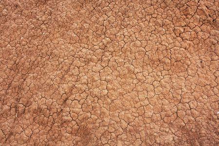 Dry and crack ground photo